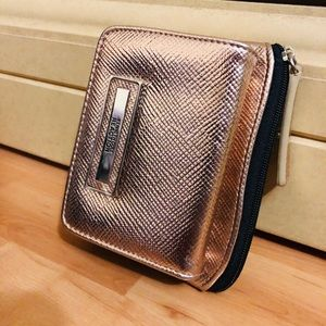 Kenneth Cole Reaction Rose Gold Wallet, EUC